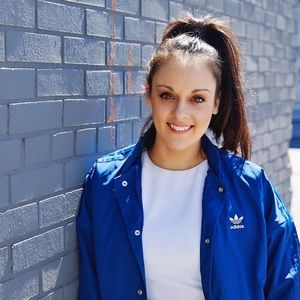 ADIDAS Blue Bomber Jacket